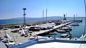 Бургас времето уеб камера порт пристанище яхт клуб фар вълнолом кей Черно море Free-WebCamBG