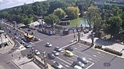 Sofia weather webcam Square 'Eagles Bridge' 75, Tsar 'Osvoboditel' Free-WebCamBG