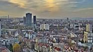 София времето уеб камера трафик булевард 'Цариградско шосе', 4-ти километър, панорама квартал жк 'Младост', Мол 'The Mall' Free-WebCamBG