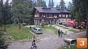 Природен парк Витоша планина времето уеб камера от семеен хотел и хотелски комплекс 'Боерица' (1700 м. н.в.) Free-WebCamBG