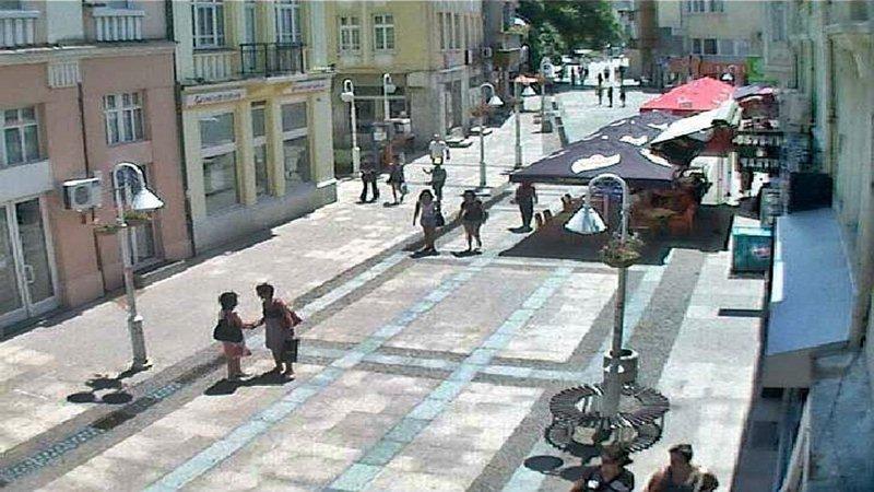 Център, 'Главна' пешеходна улица - Габрово (камери)