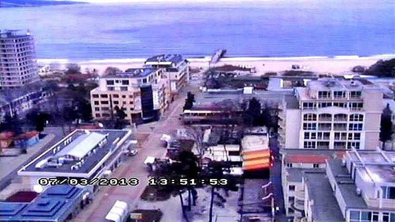 Център комплекс 'Слънчев бряг' от хотел 'Кубан' (камера)