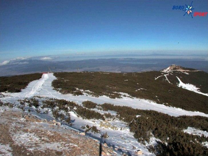 Боровец (03.януари.2014 г.) времето уеб камери ски зона 'Маркуджик-2' и 'Ястребец' Рила планина Free-WebCamBG