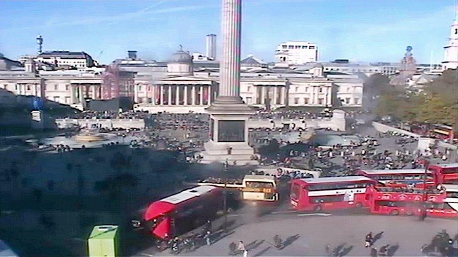 Лондон времето уеб камера площад 'Трафалгар скуайър' Англия Великобритания Free-WebCamBG
