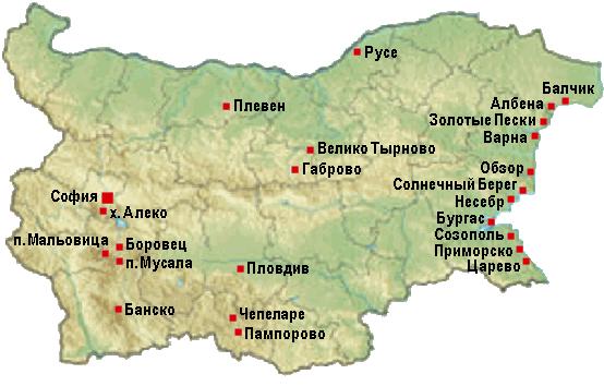 Карта веб-камеры в Болгарии в прямом эфире видеонаблюдения текущей погоды