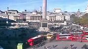 Лондон (London) времето уеб камера площад 'Трафалгар скуайър' (Trafalgar Square) столица Великобритания Free-WebCamBG